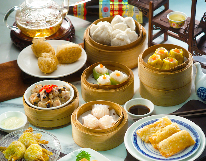 Bánh Dimsum- món ăn sáng ngon hấp dẫn ở Singapore