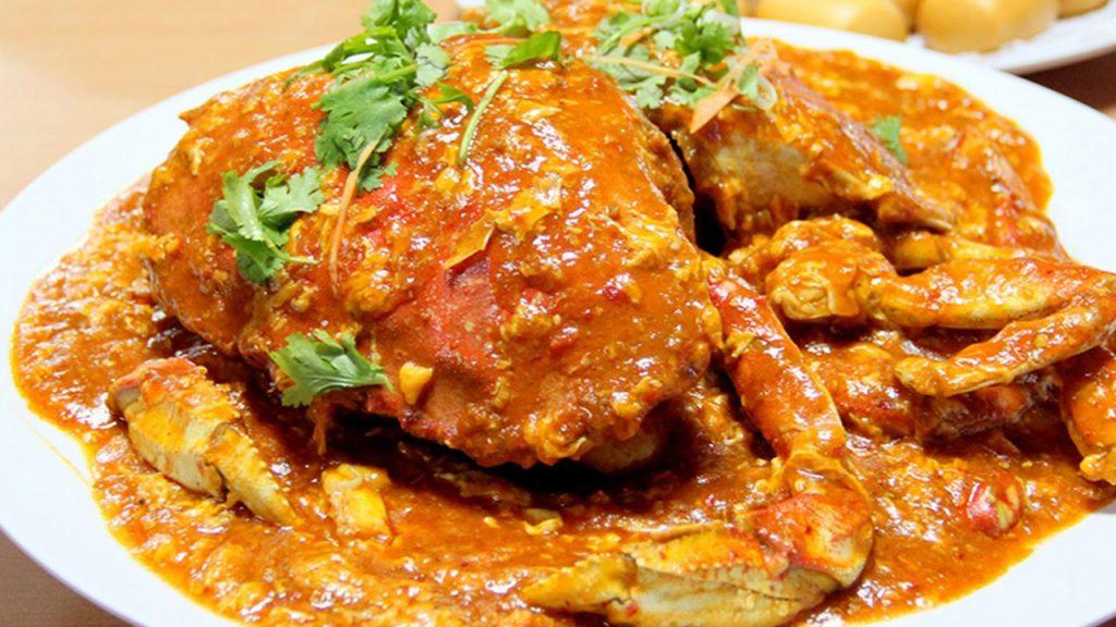 Cua sốt ớt - món ăn lừng danh của Singapore