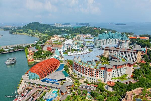 Đảo Sentosa - địa điểm vui chơi nổi bật tại đảo quốc Singapore