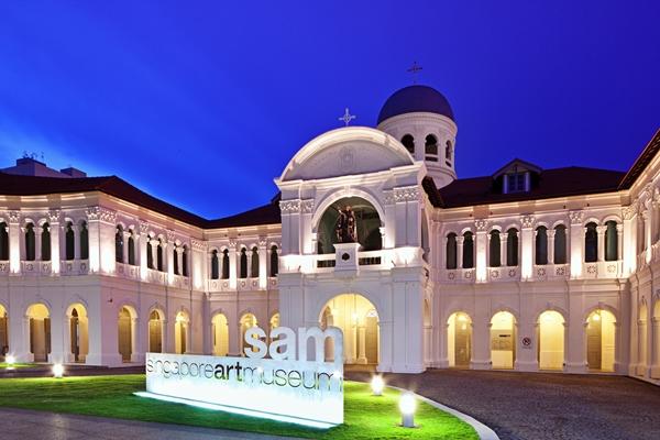 Bảo tàng nghệ thuật Singapore - SIngapore Art Museum (SAM)