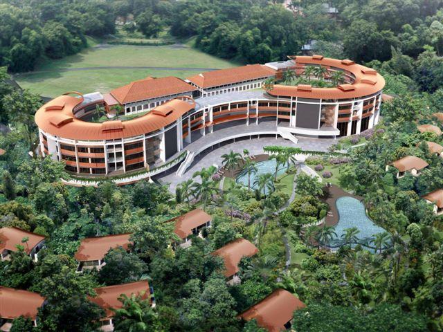Khách sạn Capella Singapore trên đảo Sentosa