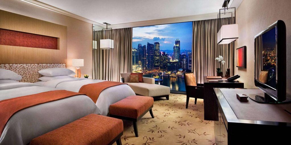 Premier room của Marina bay Sand Hotel