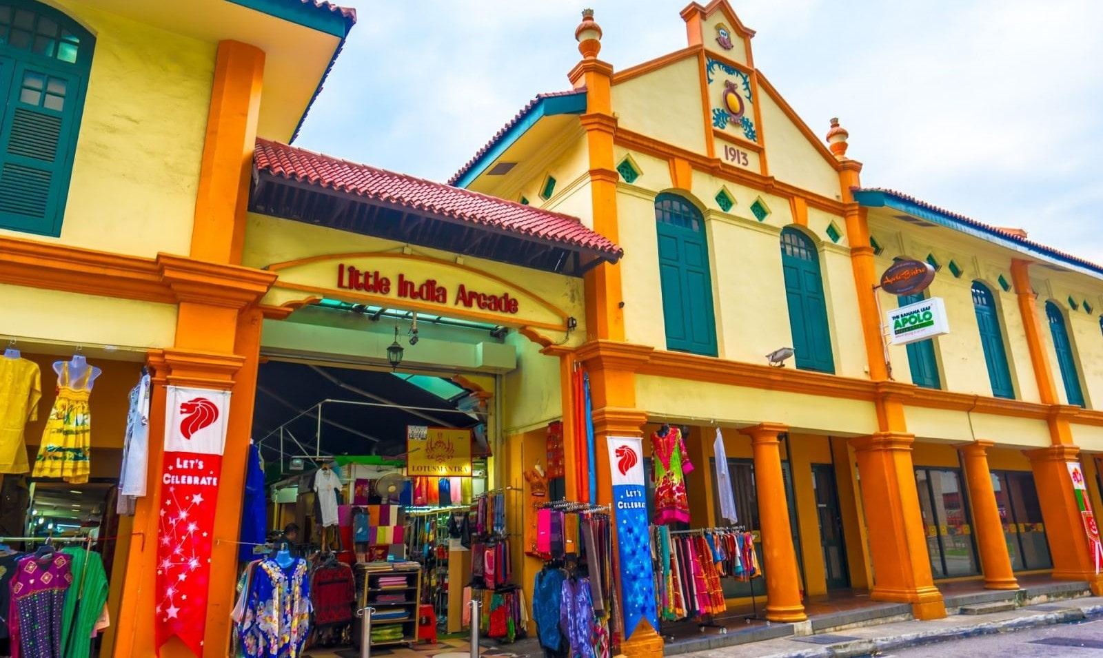 Khu chợ Ấn Độ ở Singapore