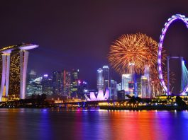 Không khí giáng sinh ở Singapore