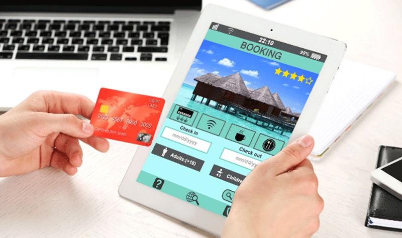 Thanh toán online khi đặt khách sạn tren Booking.com