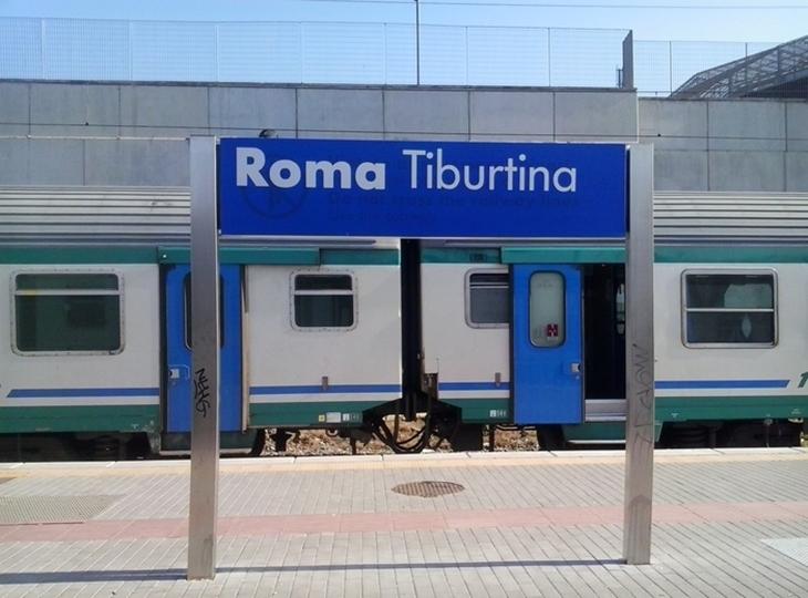 Ga xe lửa Tiburtina, nơi bắt đầu hành trình