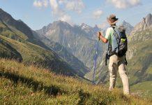 Khung cảnh đầy hùng vĩhướng ra cả dãy núi tại Sabina