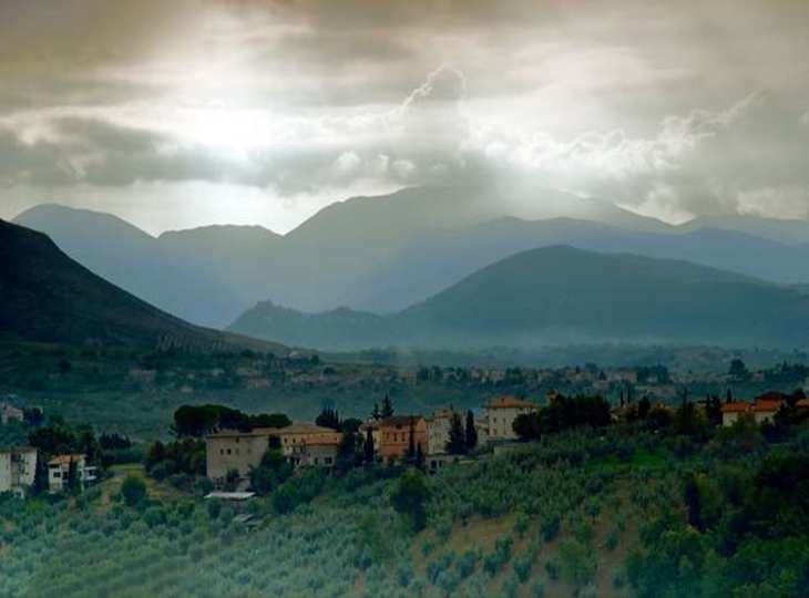 Làng Terni xinh đẹp của vùng Sabina nước Ý