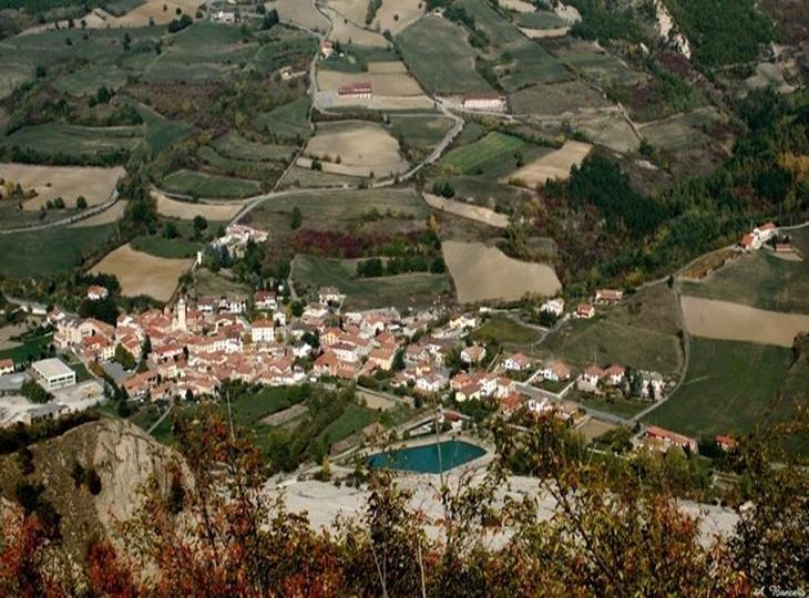 Cantalupo cùng Sabina nước Ý có địa hình khá khó khăn